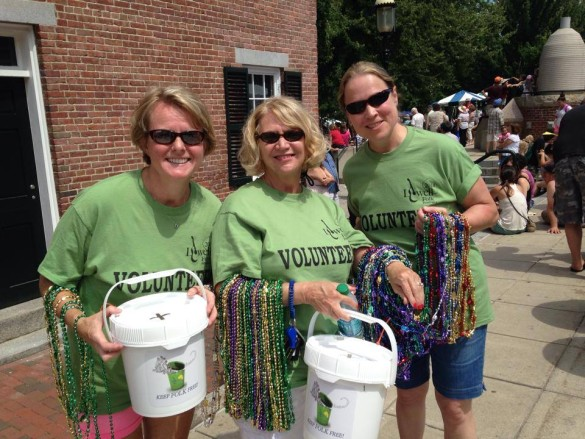 Lowell Folk Festival - Bucket Brigade 2014