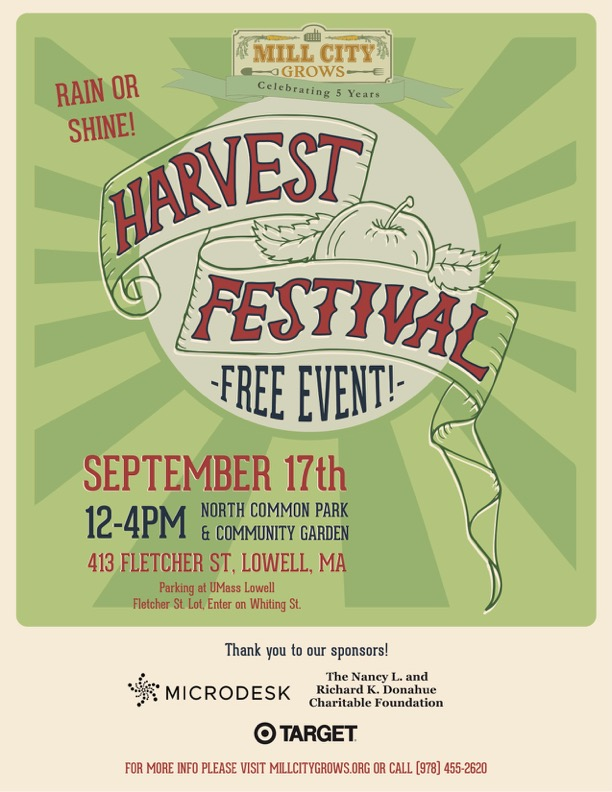 harvest festival flyer color