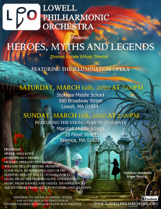 LPO Family Music Series Flyer
